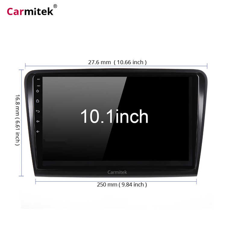 Carmitek  Car Android 8.1 Radio Multimedia Player For Skoda Superb 2008 2009 2010 2012 2013 2014 GPS Navigation head unit