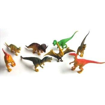 New Dinosaur World Tyrannosaurus Therizinosaurus Spinosaurus Action Figures Jurassic Dinosaurs Model Action Figure Model Toys