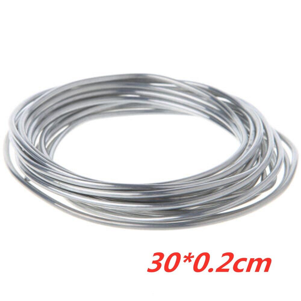 Steel Copper Aluminum Cored Wire Welding Rods Weld Flux Soldering Tool 300cm Radiator Copper-Aluminum Radiator Copper Aluminum