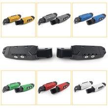 Repose-pieds de pédale pour passager arrière, pour Yamaha R3, MT03, MT07, MT09, XSR700, XSR900, TMAX530, FZ1, FZ6 R