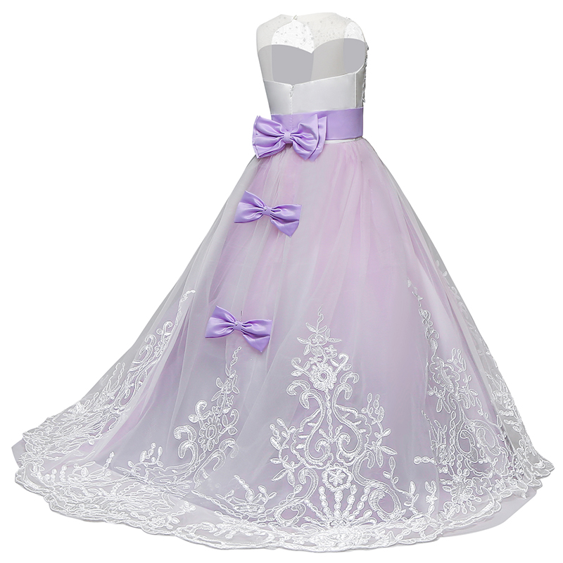 Christmas Party Dress Girl Clothes Wedding Gown Kids Dresses For Girls Tutu Dress Teenager Children Formal Wear 8 10 12 14 Years