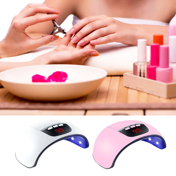 Dryer Light Fast Curing Auto Sensor LED UV Home Nail Dryer Curing for All Gel Polish Lamp 30/60/99s Timer Smart LCD image
