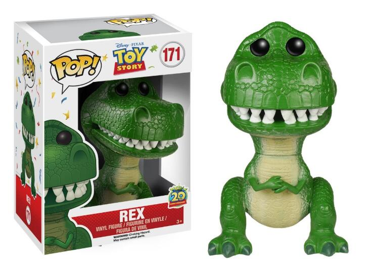 FUNKO POP TOY STORY 4 Hamm Buzz REX Vinyl 2020 Action Figures Collection Model Toys For Children Gift