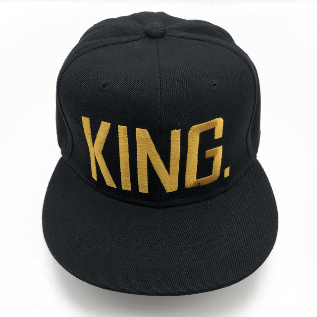 Embroidered Lovers Snapback