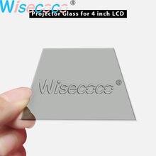 1 шт. стекло поляризационный фильтр с ультратонкой оправой стекло для 4-дюймовый ЖК-проектор запчасти тепловой изоляции для Unic UC40 UC46 Rigal