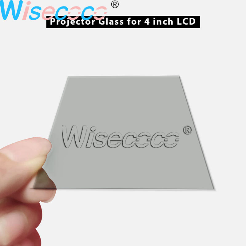 1 pc glass polarizer glass for 4 inch lcd <font><b>projector</b></font> repair parts thermal-isolation for <font><b>Unic</b></font> UC40 <font><b>UC46</b></font> Rigal image