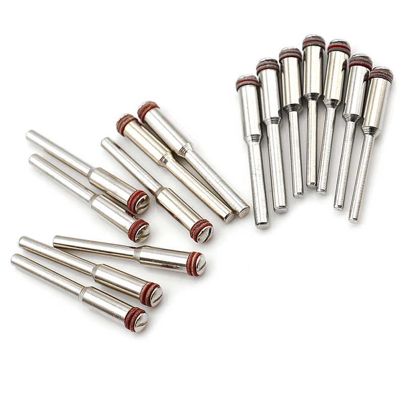 5 uds 2,35mm 3,0mm 3,17mm Tornillo de acero Mandrel vástago de corte soporte de rueda para eje de herramienta