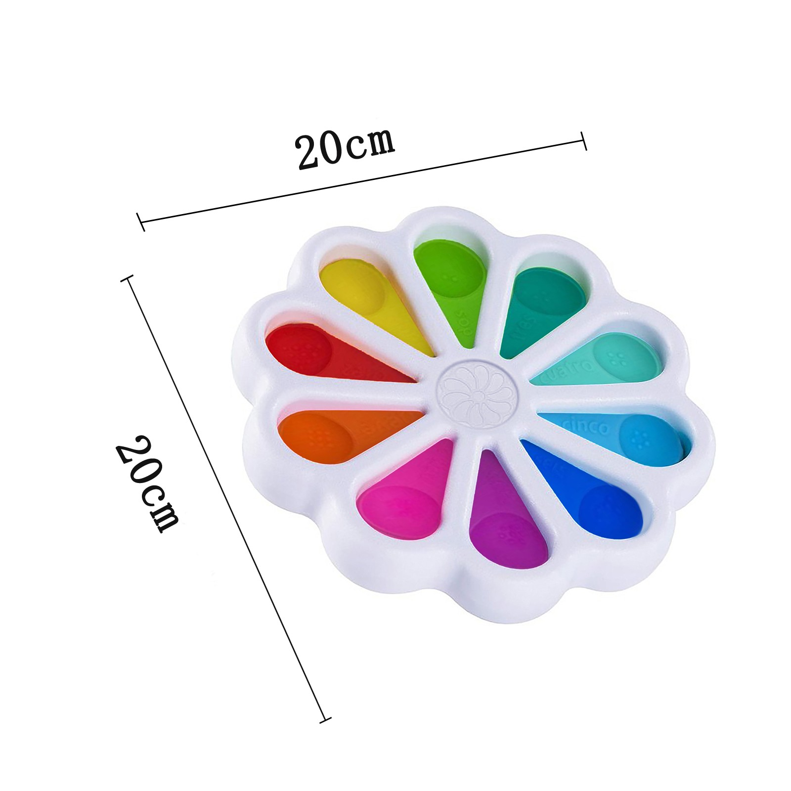 Fidget Simple Antistress Simple Dimple Toy For Kids Adults Heart Shape Silicone Stress img2
