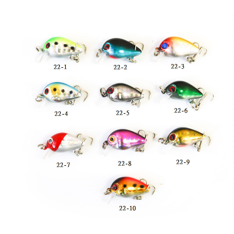 Fishing bait 2.6cm/1.4g jigging lure simulation fish bait fishing wobblers artificial bait fishing lure fishing crankbait