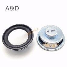 2Pcs Speaker Horn 3W 4R Diameter 4CM Mini Amplifier Rubber Gasket Loudspeaker Trumpet