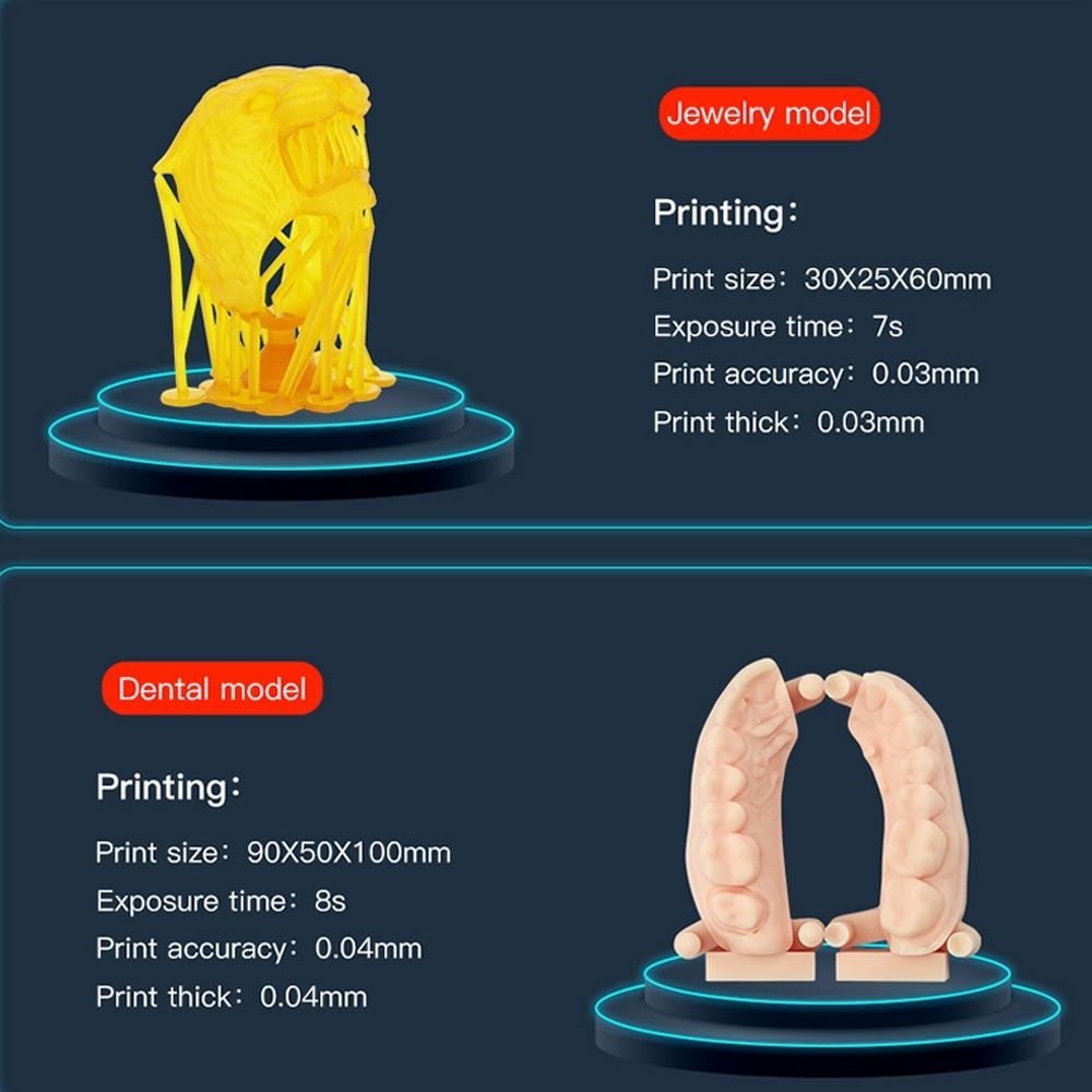 Image 5 - Anycubic Photon S 3d printer kit 3d Jewerly Dental Upgraded Laser SLA/LCD UV Resin Slicer Desktop 2.8 impresora 3d drukarka-in 3D Printers from Computer & Office