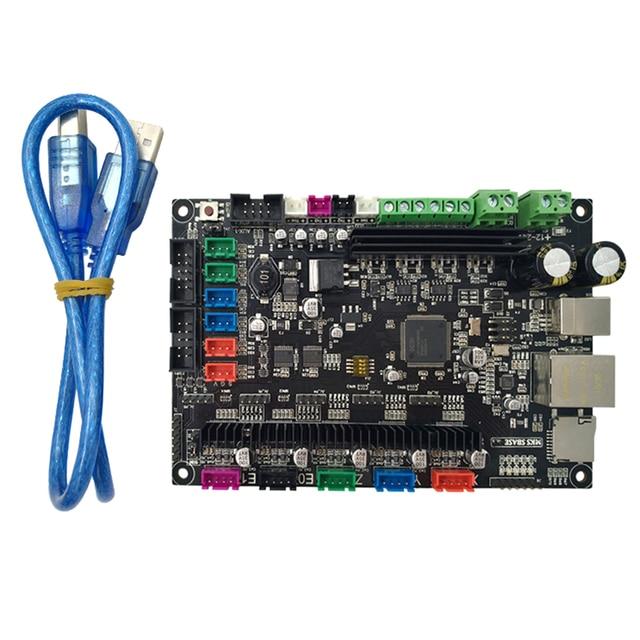 Makerbase MKS SBASE V1.3 tarjeta de Control de fuente abierta de 32 bits compatible con Marlin2.0 y Firmware Smoothieware compatible con pantalla TFT MKS y