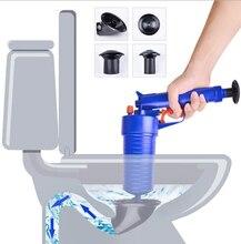 Novo de alta pressão poderoso manual desbloqueador ar blaster de drenagem/arma bomba/cleaner/abridor descobrir wc êmbolo