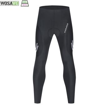 WOSAWE męskie spodenki na rower spodnie rowerowe jazda górska długie spodnie szybkie suszenie letnie ubrania rowerowe spodenki na rower tanie i dobre opinie CN (pochodzenie) Poliester spandex Elastyczny pas BO144 Cycling Mountain Biking Running Hiking Mountaineering