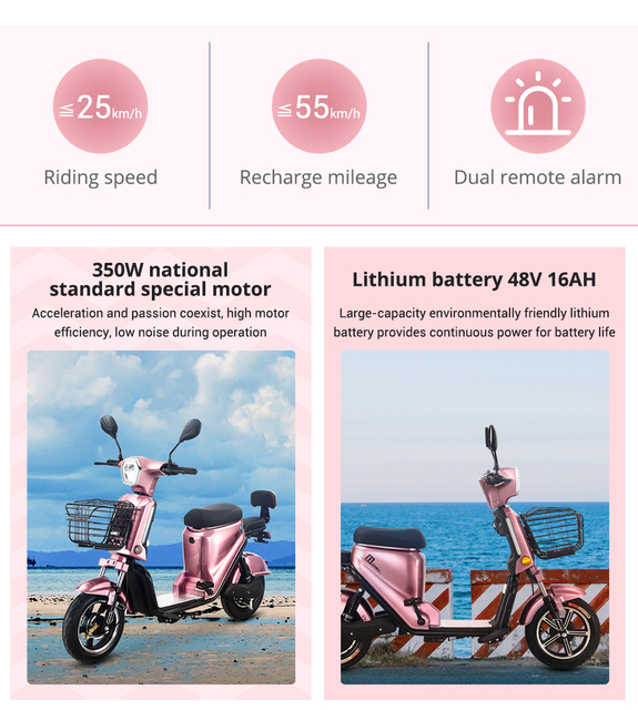 Electric Motorcycle Lithium Battery High-Endurance Moto Electrica High-Speed Electric Motorcycle Scooter Motor Moped Ebike 5