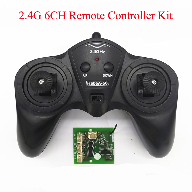 1Set DIY Toy Model Remote Controller Receiver Kit 6CH 2.4G Transmitter 50M Distance Drive Carbon Brush Motor for RC Car Boat|Parts & Accessories|   - AliExpress