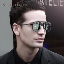 VEITHDIA, мужские фотохромные солнцезащитные очки из алюминиево-магниевого сплава, поляризационные очки с уф400 линзами, аксессуары, мужские солнцезащитные очки для мужчин 6699