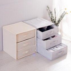 Wardrobe Storage Boxes Bag Interlayer Drawer Clothes Storage Containers Portable Underwear Organizers Home Closet Organization