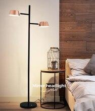 Modern Rose Gold Floor Lamp  Creative Decoration Stand Lamp Nordic Desk lamp Home Indoor