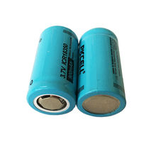 2/4/8 шт pkcell 37 v литиевая Перезаряжаемые Батарея icr 18350