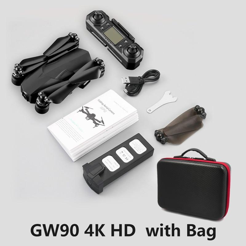 Drone 4K GPS Drones with Camera HD Camera Follow Me Quadcopter Auto Return Wifi RC Quadrocopter FPV Dron VS E520 F11 RPO