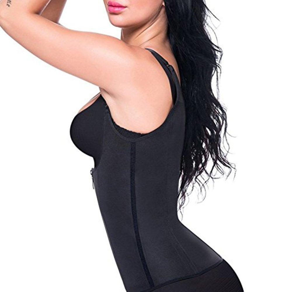 Shapers Sauna Sweat Vest Waist Trainer Women Body Slimming Trimmer Corset Workout Thermo Push Up Fat Burning Tummy Belly Girdle in Waist Cinchers from Underwear Sleepwears
