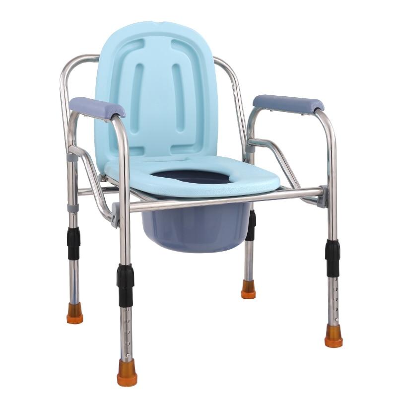 The Elderly Pedestal Pan Pregnant Woman Sit Toilet Chair Aged Shit Chair Sit Toilet Chair Toilet Chair Convenient Chair Foldable