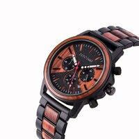 DODO DEER Sports Men's Wrist Watches Quartz Clock Fashion Retro Waterproof Watch Top Luxury Brand Chronograph Male Watches C09