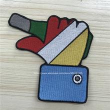 Нашивки с вышивкой на заказ эмблема oeteldonk 100% Область Вышивки