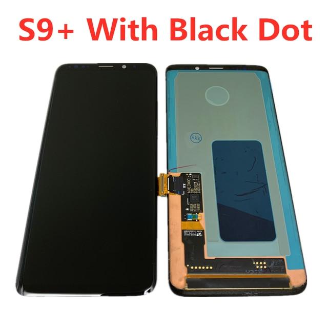 Recambio AMOLED ORIGINAL para SAMSUNG Galaxy S9 PLUS, digitalizador de pantalla táctil LCD sin marco, G965