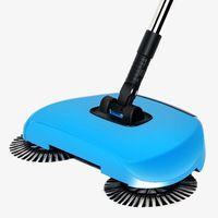 broom Stainless Steel Sweeping Machine Push Type Magic Broom Dustpan Handle Household Vacuum Cleaner Hand Push Sweeper Floor|Hand Push Sweepers|   -