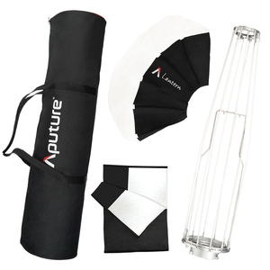 Image 5 - Aputure Lantern Softbox Flash Diffuser Soft Light Modifiers Bowens Mount For Aputure 120dii 300dii Lighting Shaping Soft Light