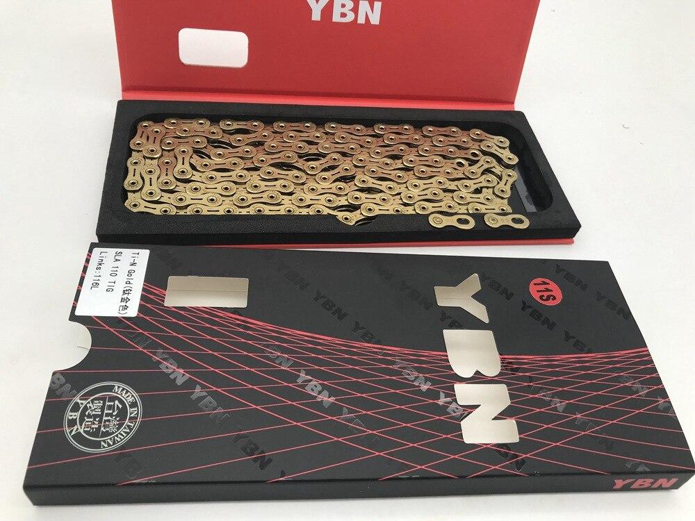 YBN Titanium SFL 11 Speed Chain TI-N
