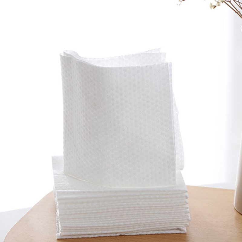 10Sheets Disposable Non-Woven Face Beauty Towel Portable Makeup Cleansing Wipes Q81B