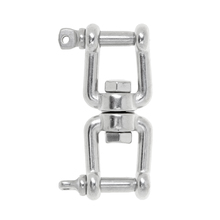 304  Marine Silver Stainless Steel Anchor Chain Connector Swivel Jaw – M6