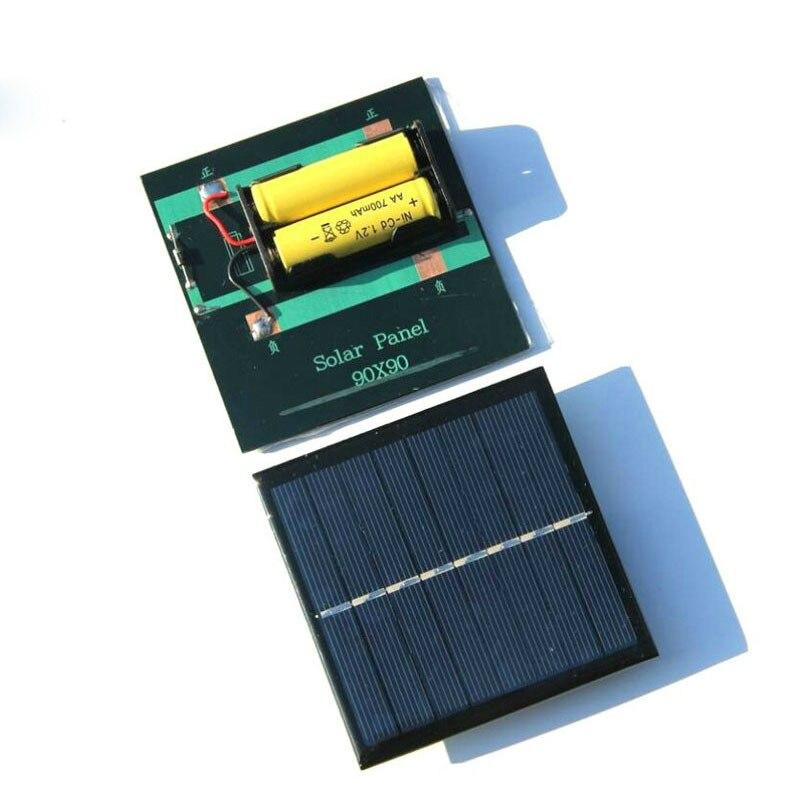SUNYIMA 1Pcs Solar Panel Solar Battery Charger 1W4V Solar Charging Board Solars Power Bank