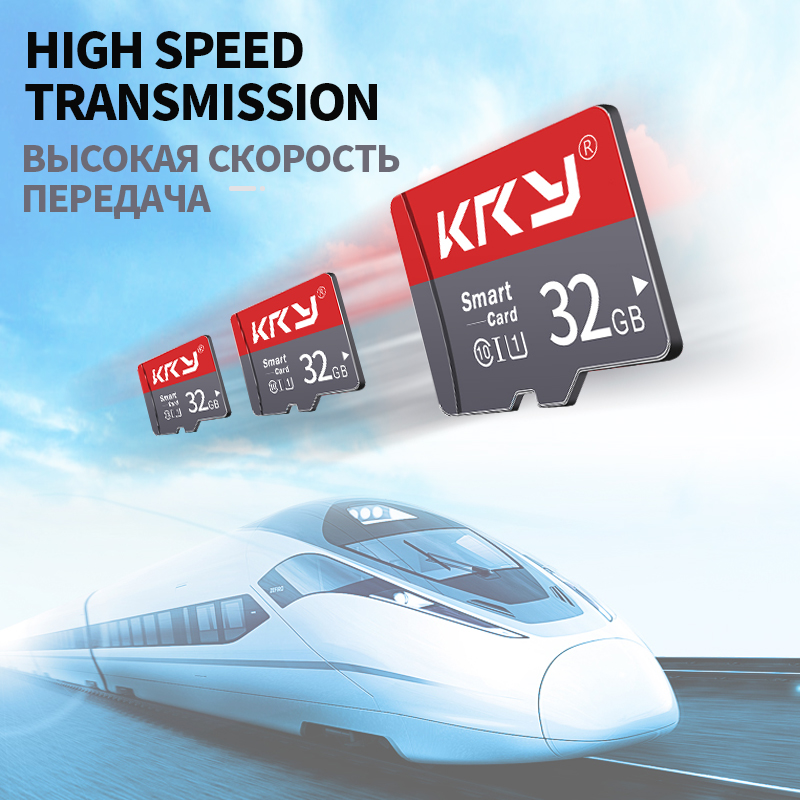 KRY Real Capacity Micro SD Memory Card Class 10 8GB 16GB 32GB 64GB 128GB TF Micro High Speed 64GB For Smartphones SD Adapter