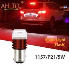 Dôme de voiture Led, 1x1156 BA15S 1157 BAY15D, lumière stroboscopique blanche et rouge, 5630 3SMD, clignotant arrière de frein de voiture 12V