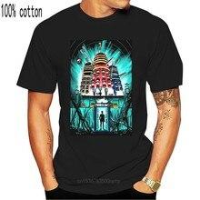 Camiseta gráfica del Doctor Who y de los Dalek'S, camiseta humorística para hombre