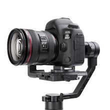 For DJI Ronin S Accessories for Zhiyun Crane 2 Handle Handheld Gimbal Stabilizer Increased Pad Riser Board Quick Release Plate