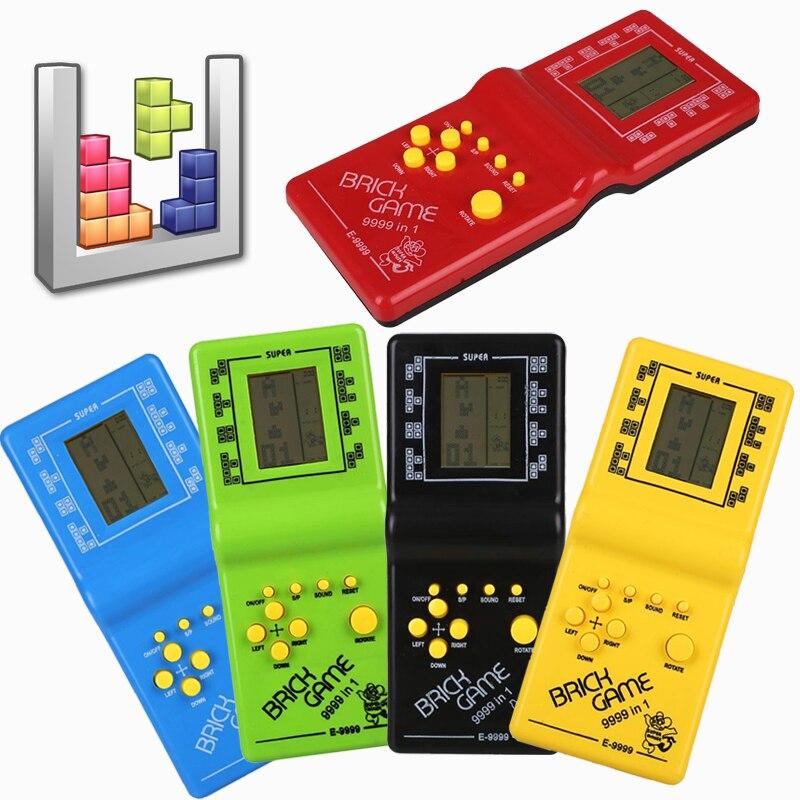 Ретро портативные игровые плееры тетрис классические детские игры электронные игры игрушки игровая консоль загадка Развивающие игрушки для детей