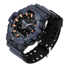 SANDA 2020 Sports Mens Watches Top Brand Luxury Military Quartz Watch Men Waterproof S Shock Wristwatches relogio masculino 700