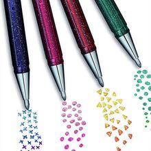 Borboleta colorida 1.0mm gel caneta multicolorido metal magia cor manual decoração de duas cores perolado gel caneta