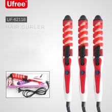 Professional Hair Curler 2019 Magic Spiral Electric Curling Iron Hair Styler Pro Styling Tool Fast Heating Curling Wand Electric цены