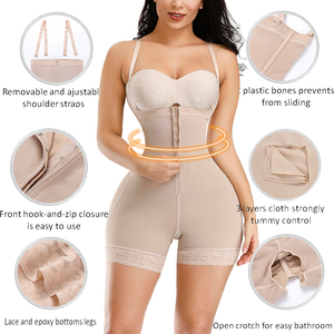Image 2 - HEXIN Plus Shapewear Workout Waist Trainer Corset Butt lifter Tummy Control Plus Size Booty Lift Pulling Underwear Shaper