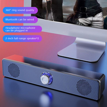 Fast DeliverySound Bar Wired And Wireless Bluetooth Speaker Home Surround SoundBar Stereo Subwoofer For PC Theater TV Speakers