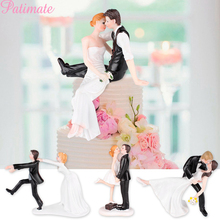Wedding Decoration Cake Topper Bride To Be Diy Decor Marry Resin Figurine Party Supplies Groom Dolls Gifts