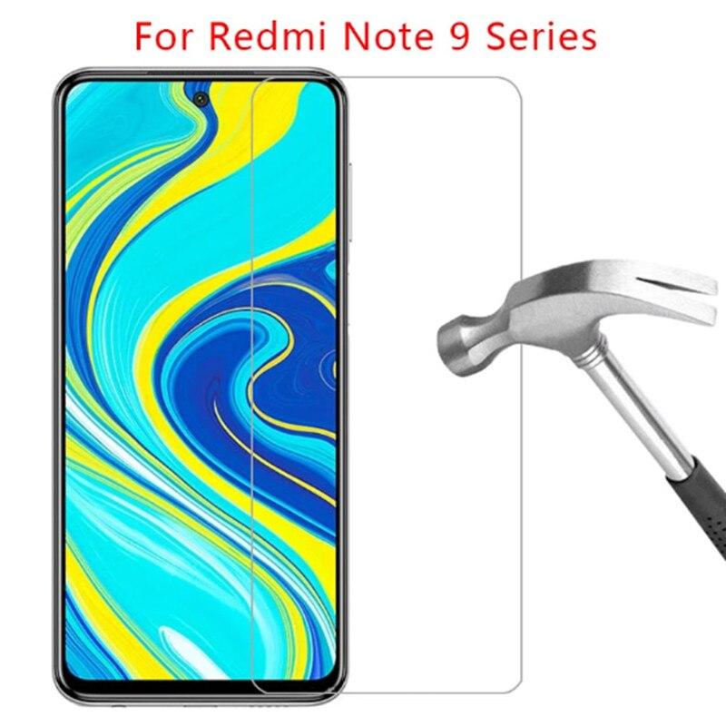 3Pcs For xaomi Redmi Note9 Pro 9s Note 8 8 t note9s 9pro ksiomi note9 9s Screen Protectors Tempered Glass on redmi 8 a 8A Film