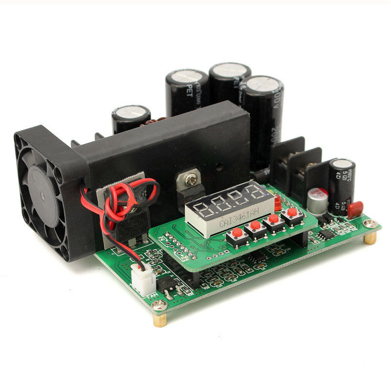 LBER <font><b>DC</b></font>-<font><b>DC</b></font> BST900W CNC Boost Converter 8-60V Step-up 10-120V Solar Charging CVCC New image