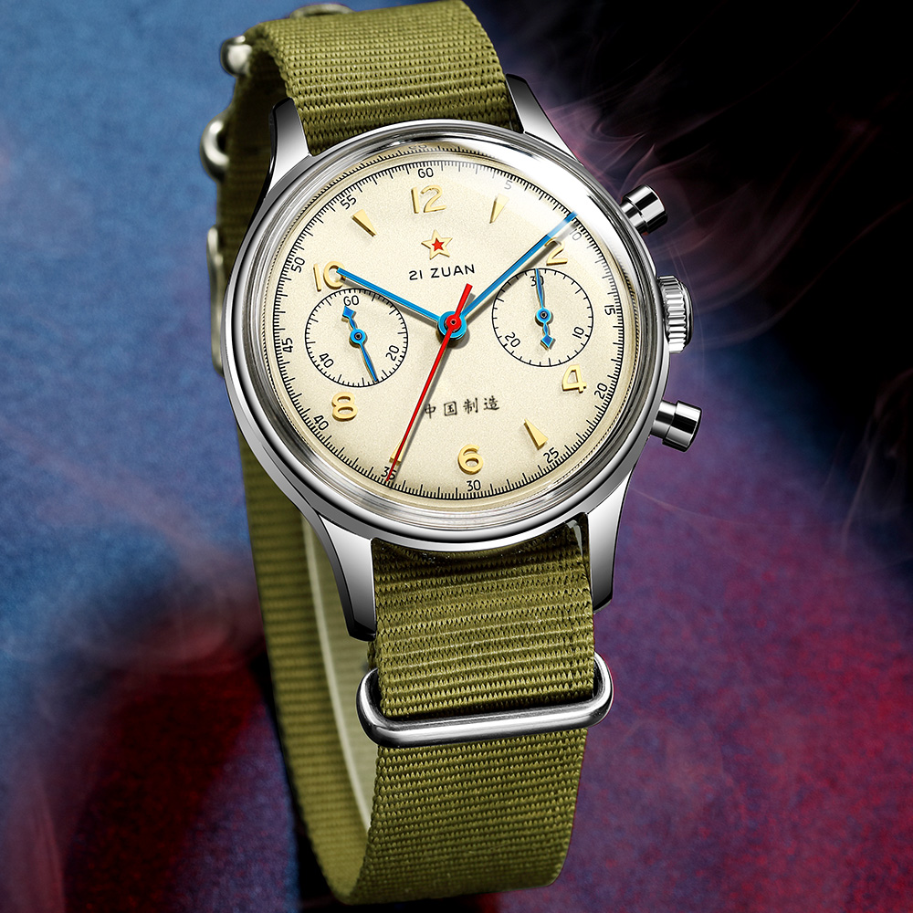 Chronograph Mechanical Wrist Watch